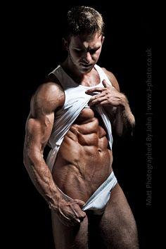 Matthew Warburton male fitness model