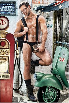 Callum Casserly male fitness model