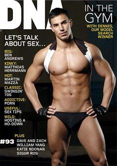 Dennis Batbayli male fitness model