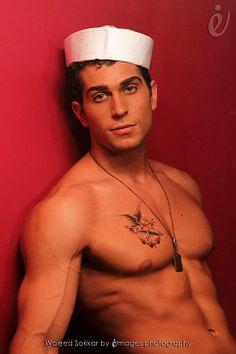 Waleed Sokkar male fitness model