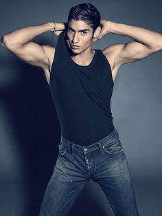 Francisco Javier Escobar male fitness model