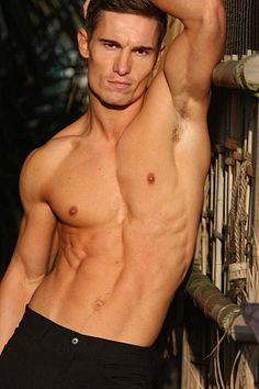 Mark Sharman male fitness model