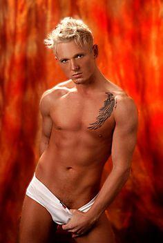 Trevor Werner male fitness model