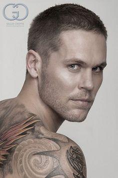Craig Bramley male fitness model