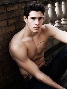 Adrien France male fitness model