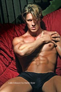 Calle Eriksson male fitness model