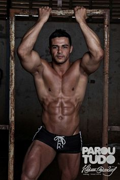Bruno Rafael male fitness model