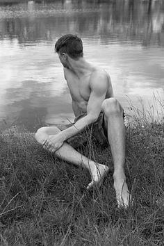 Steven Beckett male fitness model
