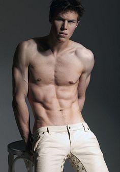 Alexej Roman male fitness model