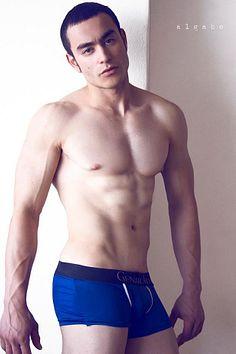 Gabriel Ferreira male fitness model