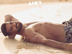 Abdalla Raouf male fitness model