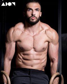 Abdulrahman Sulayman male fitness model