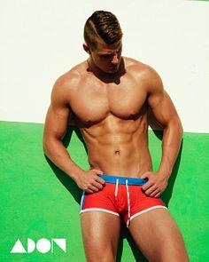 Abel Cruz male fitness model