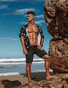 Adam Burton male fitness model