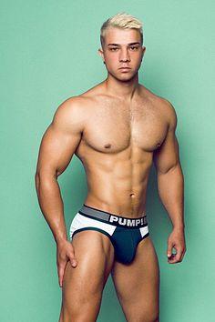 Adrián Afonso male fitness model