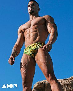 Alejandro male fitness model