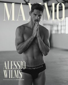 Alessio Wilms male fitness model