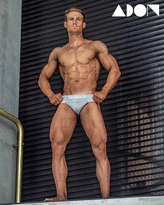 Alex Brown male fitness model