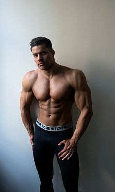 Alex Hessam male fitness model