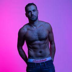 Alvar Manjón male fitness model