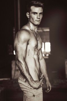 Álvaro Lara male fitness model