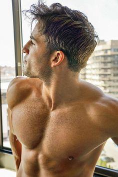 Andrew Kozik male fitness model
