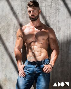 Angelos Theocharides male fitness model