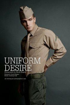 Anthony Folk male fitness model