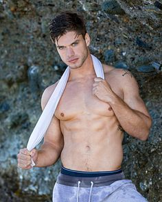 Anthony Kosinchuk male fitness model