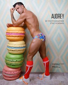 Audrey male fitness model