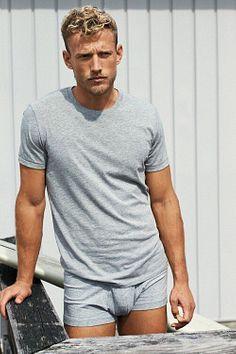 Blaine Cook male fitness model