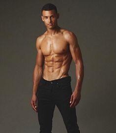 Brandon Lewis male fitness model