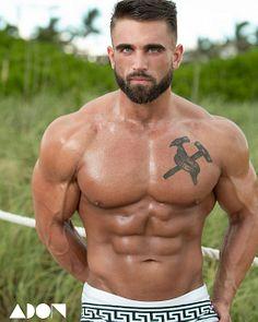 Brandon Schlaegel male fitness model
