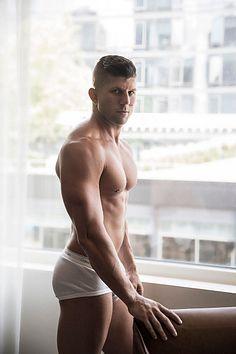 Brian Bradley male fitness model