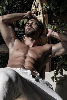 Brian Loro male fitness model
