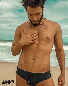 Bruno Fagundes male fitness model