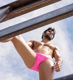 Bruno Krause male fitness model