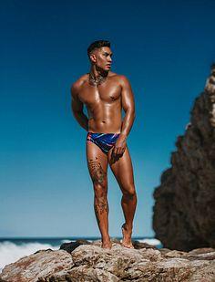 Calvin Barker male fitness model