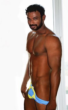 Charan Bangaram male fitness model