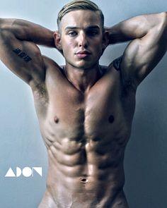 Charles male fitness model