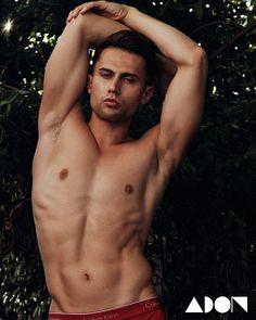 Christian male fitness model