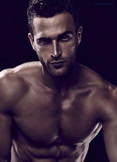 Christian Santamaria male fitness model
