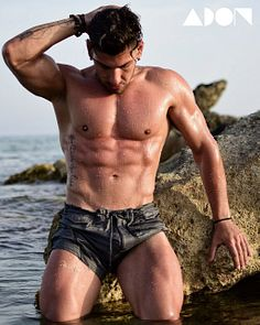 Christodoulos Ioannou male fitness model