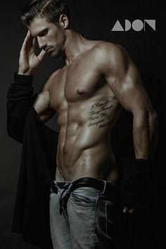 Colton Szostek male fitness model