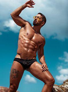 Cristian Falcon male fitness model