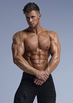 Daire Curley male fitness model