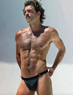 Dan Lang male fitness model