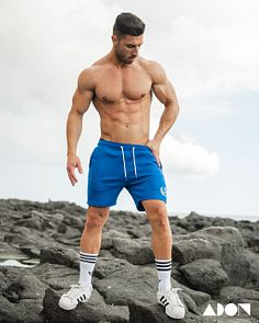 Daniel Glez male fitness model