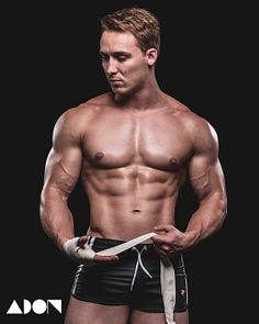 Darian Killip male fitness model