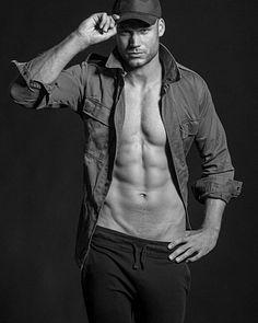 David Albrecht male fitness model